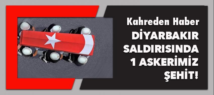 Diyarbakır'daki saldırıdan bir acı haber!
