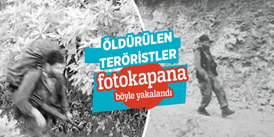 Öldürülenteröristlerfotokapana böyleyakalandı
