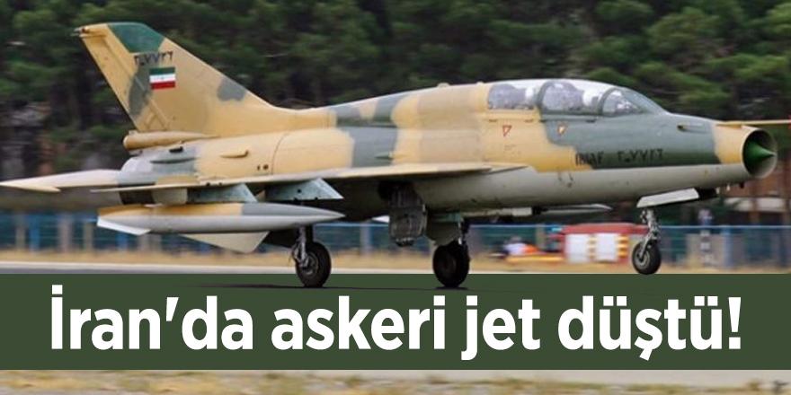 İran'da askeri jet düştü!