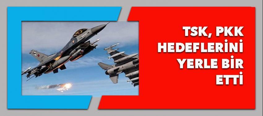 TSK, PKK kampını yerle bir etti!
