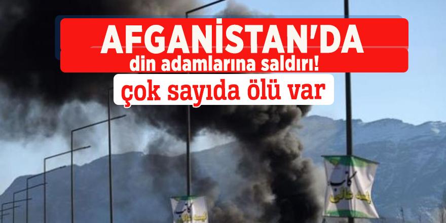 Afganistan'da din adamlarına saldırı!