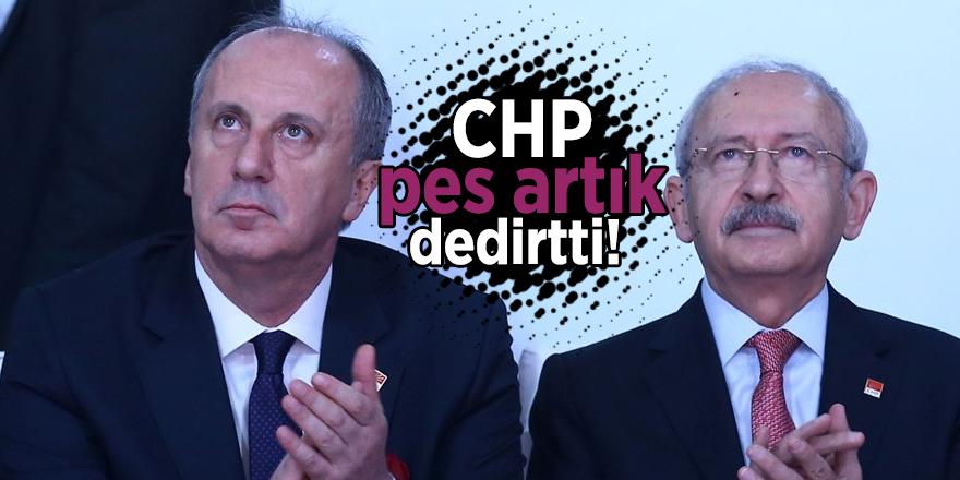 CHP pes artık dedirtti!