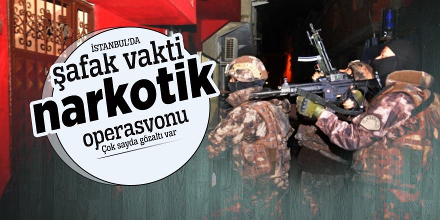 İstanbul'da şafak vakti operasyonu: Çok sayda gözaltı