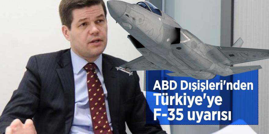 ABD Dışişleri'nden Türkiye'ye F-35 uyarısı