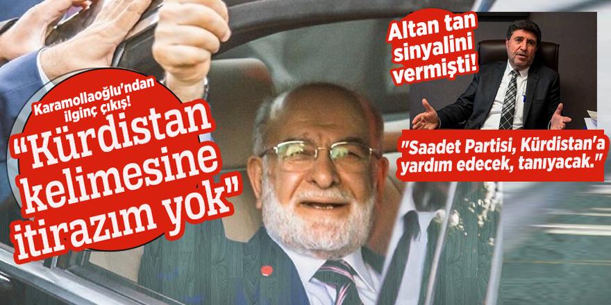 """Karamollaoğlu: """"Kürdistan kelimesine itirazım yok"""""""