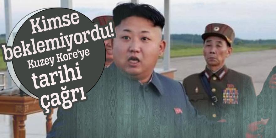 Kimse beklemiyordu! Kuzey Kore'ye tarihi çağrı