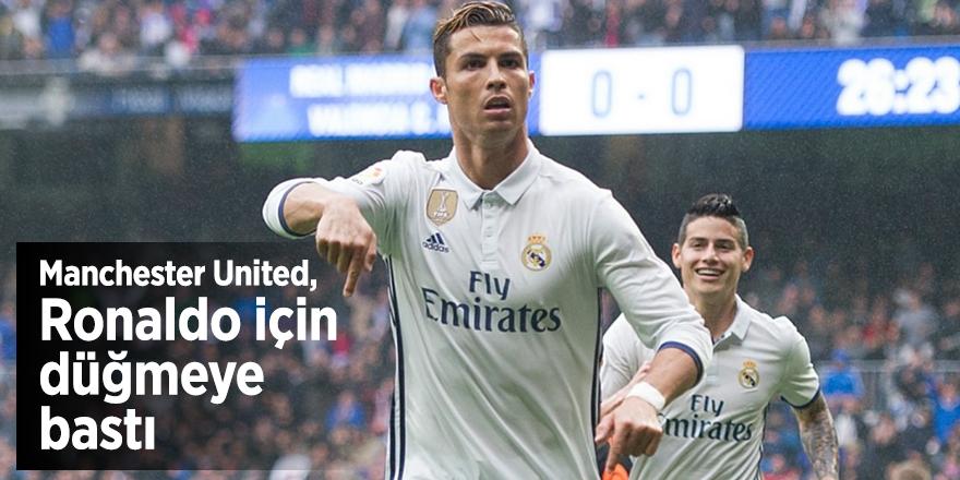 Manchester United, Ronaldo için düğmeye bastı