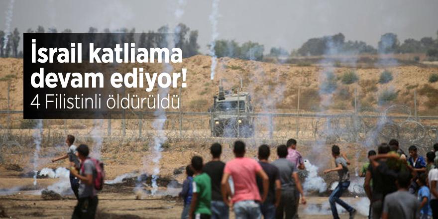 İsrail katliama devam ediyor! 4 Filistinli öldürüldü