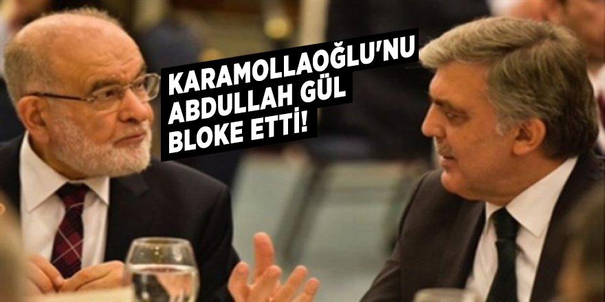 Karamollaoğlu'nu Abdullah Gül bloke etti!