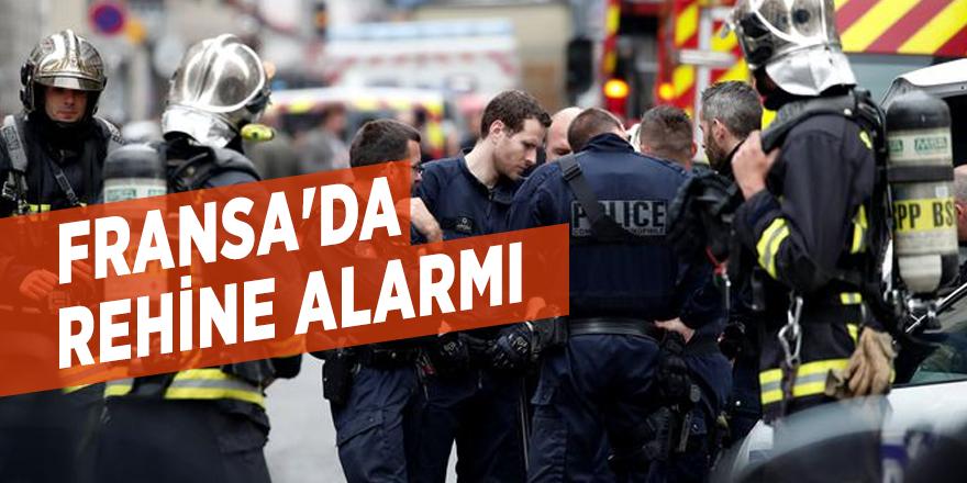 Fransa'da rehine alarmı