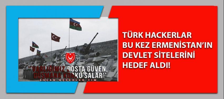 Türk Hackerlar Ermenistan'a bakın nasıl mesaj verdiler