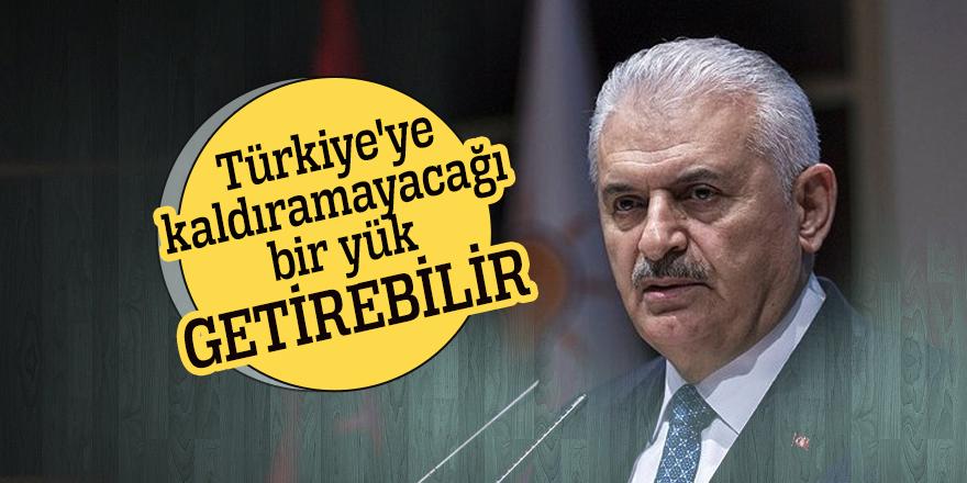 Başbakan uyardı: Türkiye'ye kaldıramayacağı bir yük getirebilir