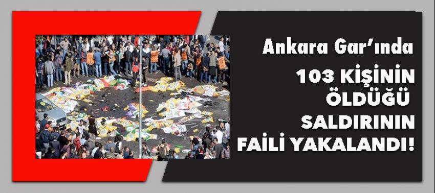 103 kişinin öldüğü saldırının faili yakalandı
