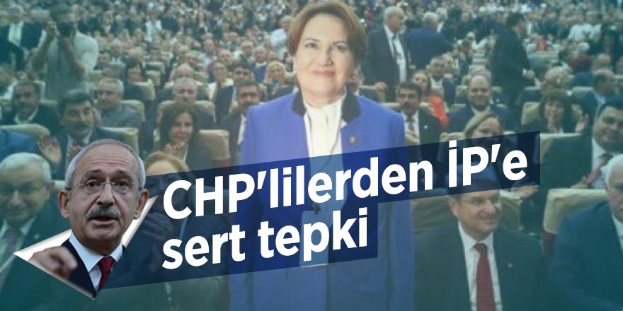CHP'lilerden İP'e sert tepki