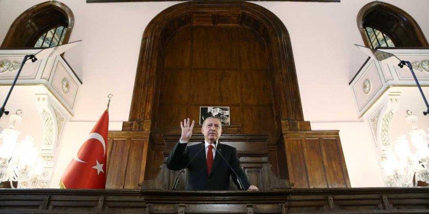 Başkan Erdoğan'dan 'Hakimiyet Milletindir' mesajı