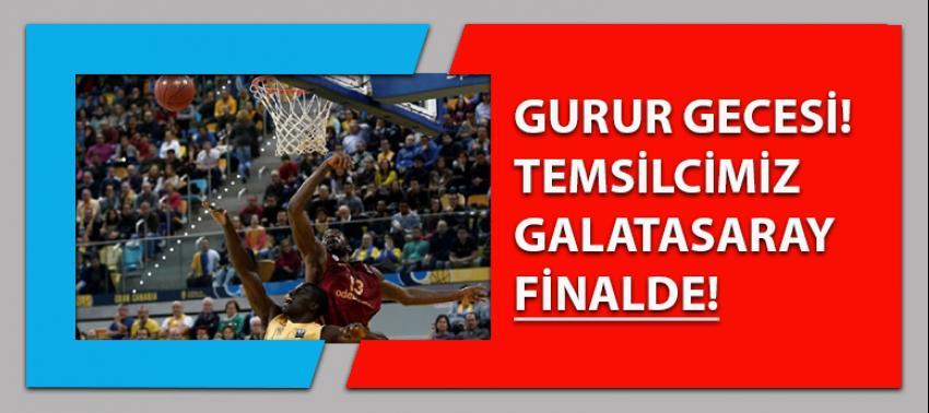 Avrupa'da gurur gecesi: Galatasaray finalde!