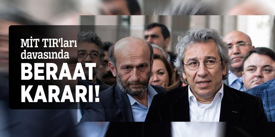 MİT TIR'ları davasında beraat kararı!