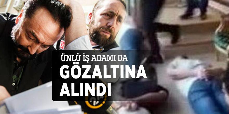 Oktar operasyonunda Mehmet Alp Ünlü de gözaltına alındı