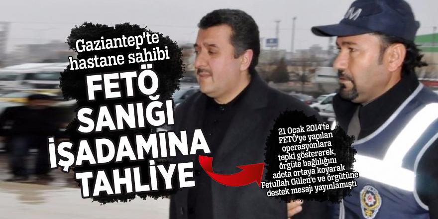 Örgüte bağlılığını ortaya koyarak Gülen'e destek vermişti:  Tahliye edildi...