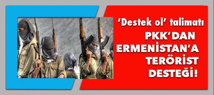 PKK'dan Ermenistan'a terörist servisi!