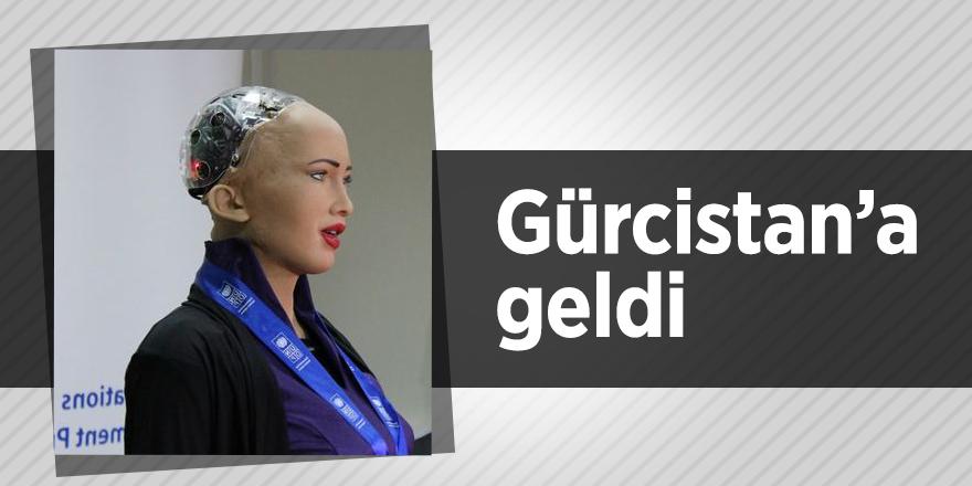 Robot Sofia Gürcistan'da