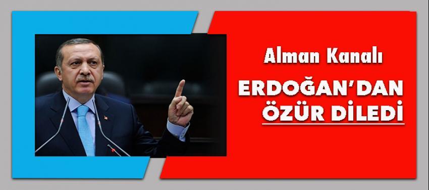 ZDF Erdoğan klibinden dolayı özür diledi