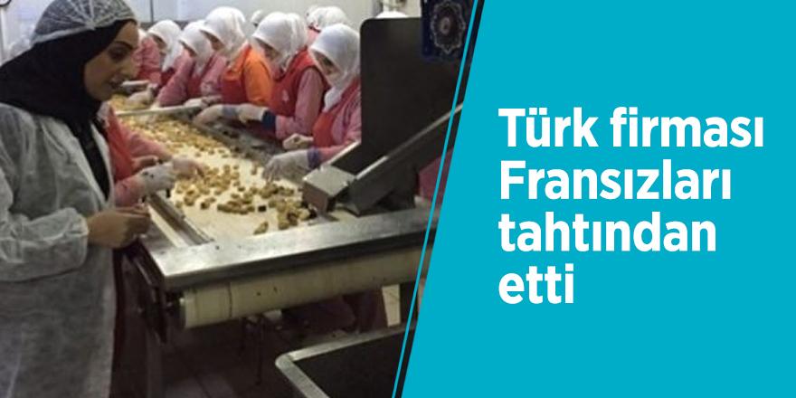 Türk firması Fransızları tahtından etti
