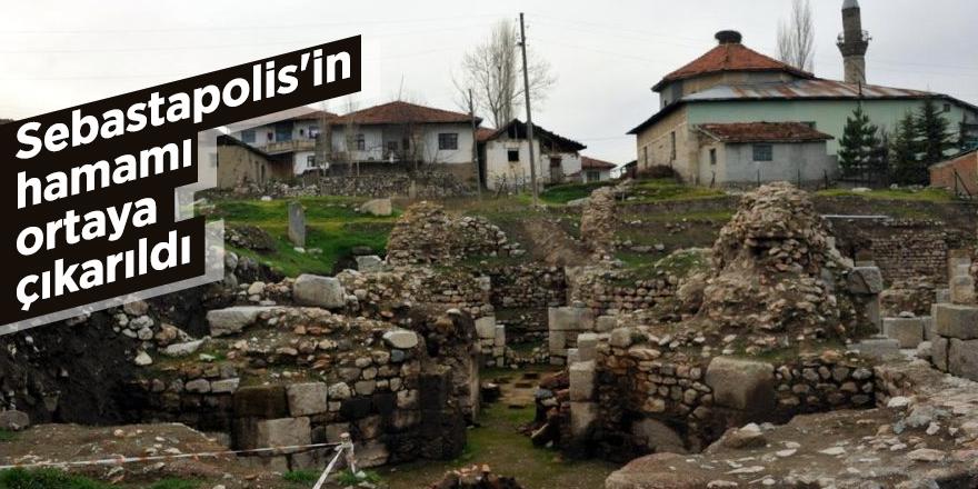 Sebastapolis'in hamamı ortaya çıkarıldı