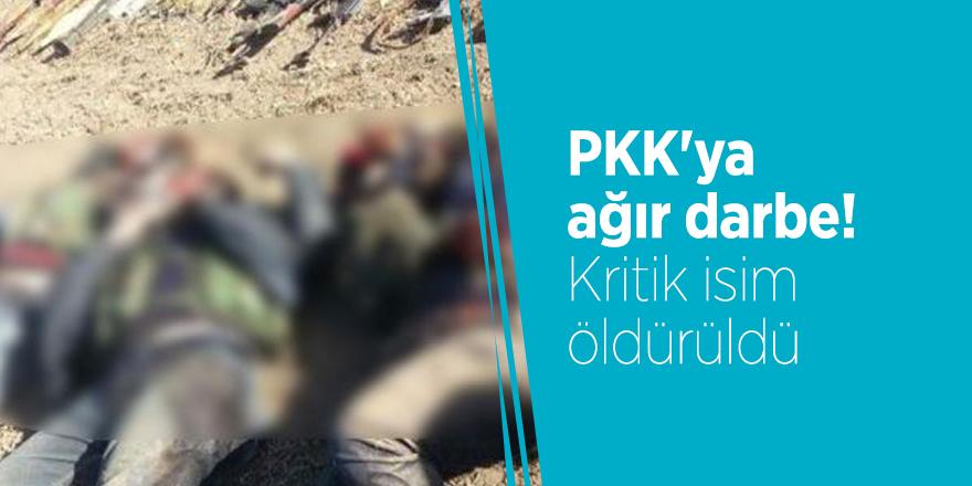PKK'ya ağır darbe! Kritik isim öldürüldü