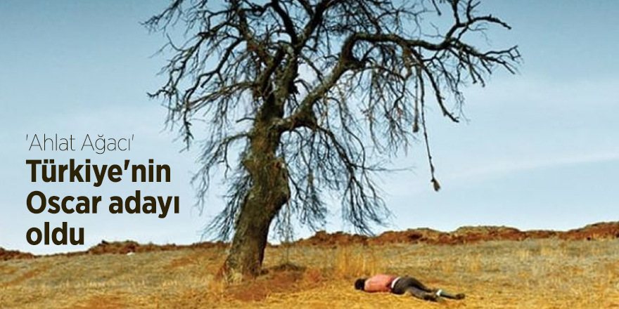 'Ahlat Ağacı' Türkiye'nin Oscar adayı oldu