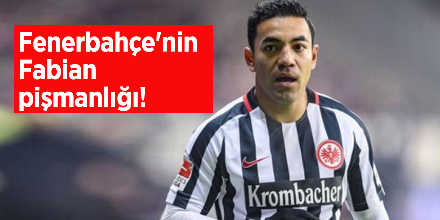 Fenerbahçe'nin Fabian pişmanlığı!