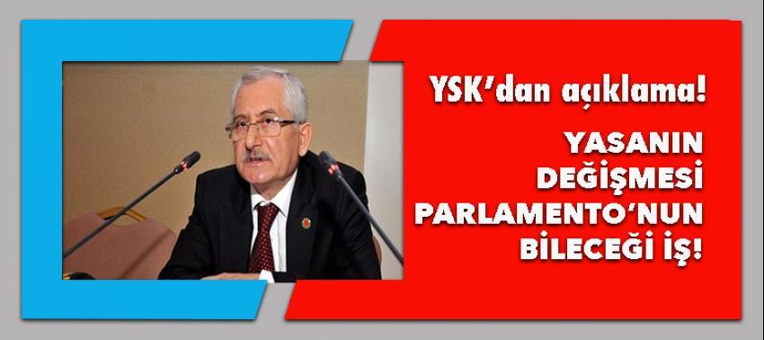 YSK Başkanı Güven'den kimlik bilgileri açıklaması