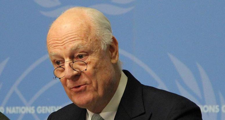Mistura: Pazar günü Suriye muhalefeti ile görüşmelere başlayacağız