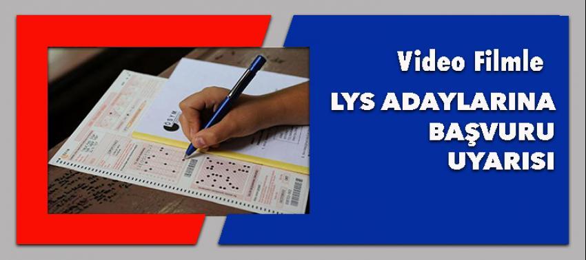 LYS adaylarına başvuru uyarısı