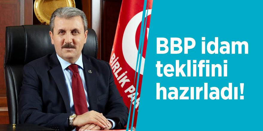 BBP idam teklifini hazırladı!