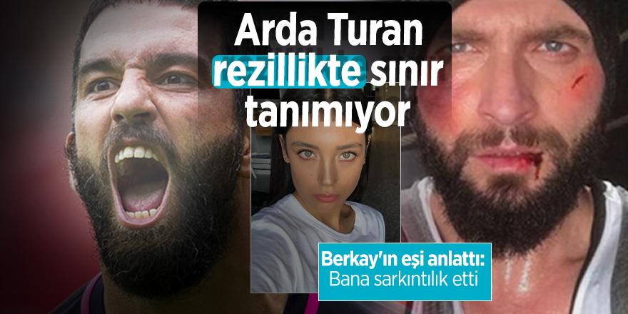 Arda Turan rezillikte sınır tanımıyor!