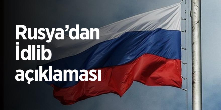 Rusya'dan İdlib açıklaması.