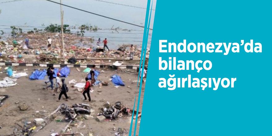 Endonezya'da bilanço ağırlaşıyor