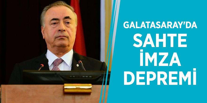 Galatasaray'da sahte imza depremi
