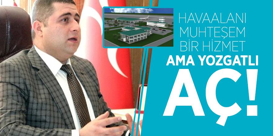 MHP Yozgat Milletvekili Ethem Sedef'ten FLAŞ sözler!
