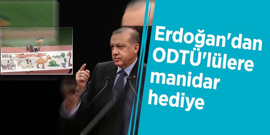 Erdoğan'dan ODTÜ'lülere manidar hediye