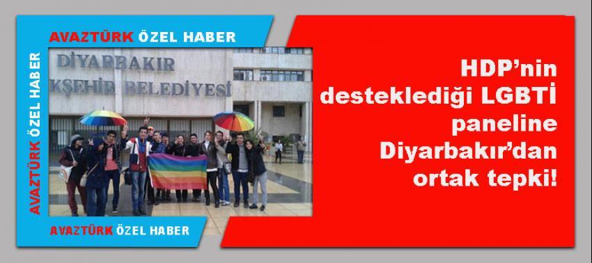 HDP'nin desteklediği LGBTİ paneline Diyarbakır'dan ortak tepki!