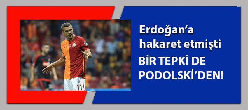 Erdoğan'a hakaret eden Alman mizahçıya Podolski'den tepki