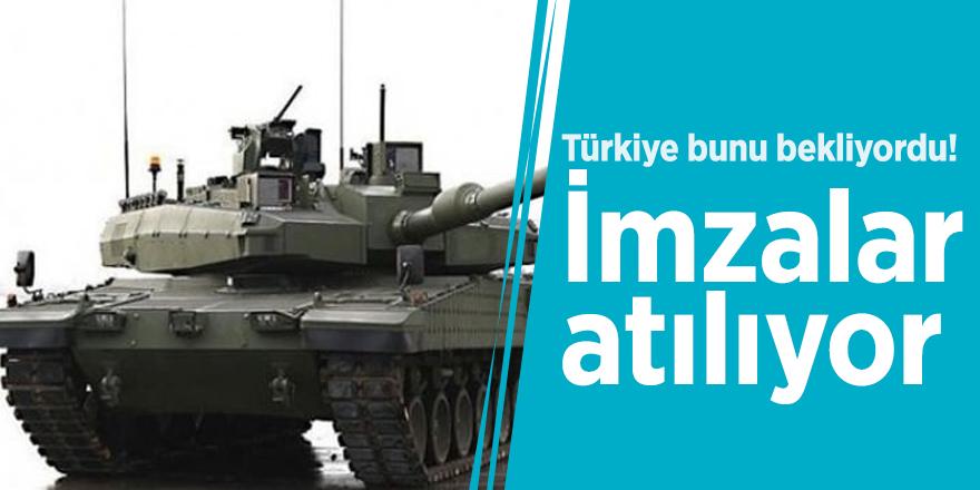 Türkiye bunu bekliyordu! İmzalar atılıyor