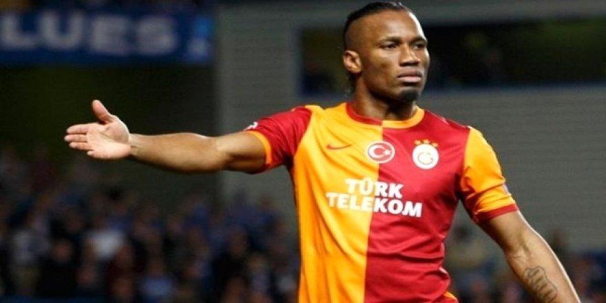 Galatasaray'dan Drogba'ya teşekkür!
