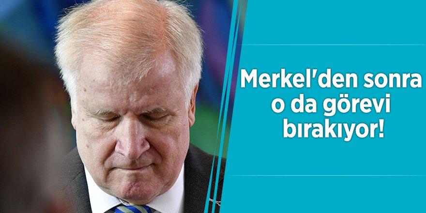 Merkel'den sonra o da görevi bırakıyor!
