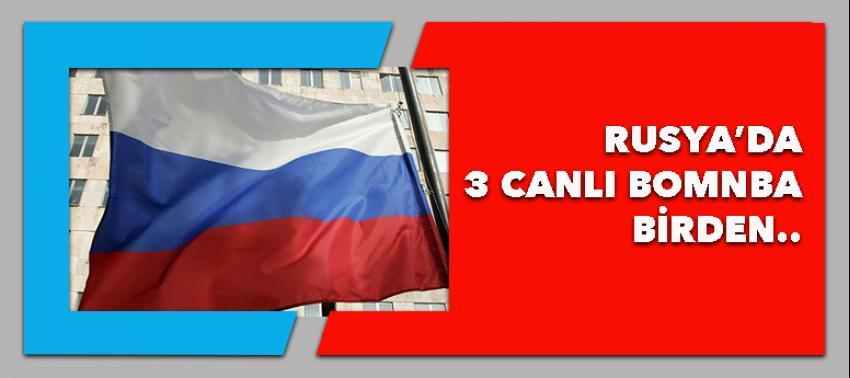 Rusya'da 3 canlı bomba kendisini patlattı
