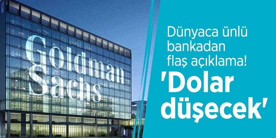 Dünyaca ünlü bankadan flaş açıklama! 'Dolar düşecek'