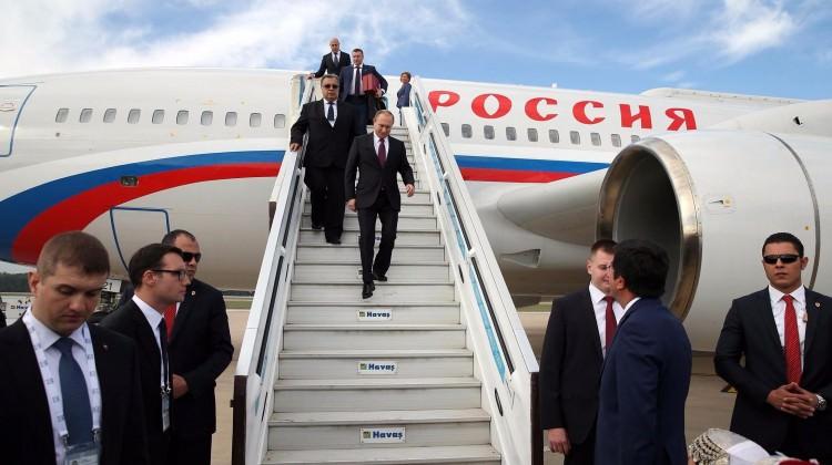 Vladimir Putin İstanbul'da