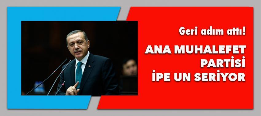 Ana Muhalefet Partisi ipe un seriyor!